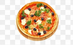 Pizza - Pizza Italian Cuisine Submarine Sandwich High-definition Television Wallpaper PNG
