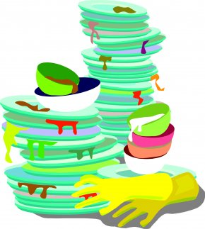 Dirty World Cliparts - Dish Tableware Clip Art PNG