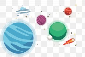Stars In Space - Star Sky Planet Euclidean Vector PNG