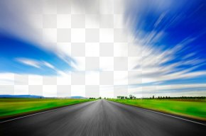 Beautiful Scenery Road Road - Road Surface Stock Photography PNG