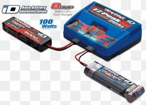 Battery Charger - Battery Charger Traxxas Radio-controlled Car Lithium Polymer Battery Nickel–metal Hydride Battery PNG