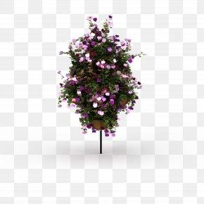 Purple Flower Bouquet - 3D Computer Graphics Download Flower PNG