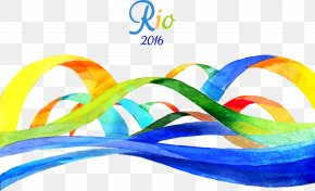 Rio 2016 Olympic Games Ribbons - 2016 Summer Olympics Medal Table Rio De Janeiro 2016 Summer Paralympics PNG