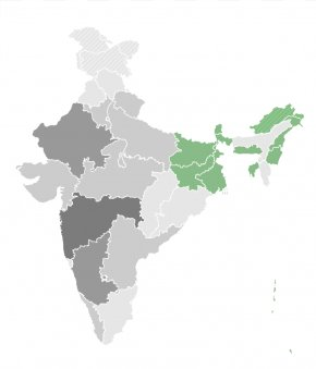 India - Rajasthan States And Territories Of India Hindi Official Language PNG