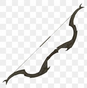 Recurve Bow - Bow And Arrow Recurve Bow PNG