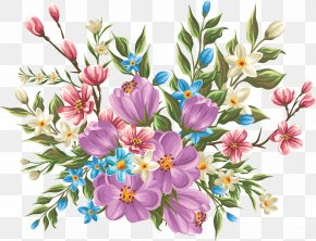 Floral Design Watercolor Painting Flower - Flower Drawing Clip Art PNG