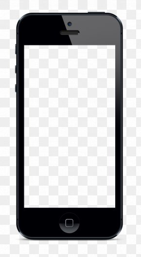 Blank IPhone X - Samsung Galaxy Smartphone Telephone Clip Art PNG