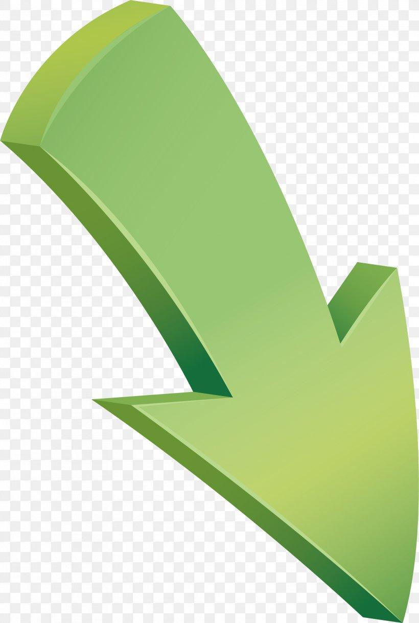 Arrow Euclidean Vector Download, PNG, 1981x2946px, Arrow Keys, Grass, Green, Interlacing, Leaf Download Free