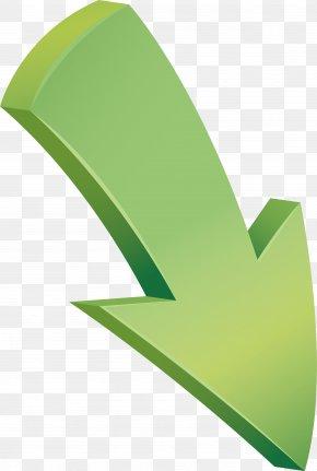 Oblique Down Arrow - Arrow Euclidean Vector Download PNG