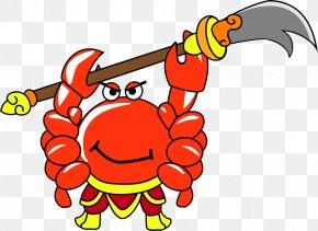 Cartoon Crab - Crab Cartoon PNG