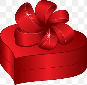 Present Box - Gift Valentine's Day Birthday Clip Art PNG