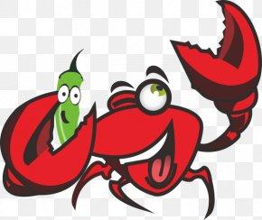 Lobster Cartoon Illustration - Homarus Cartoon Logo Illustration PNG