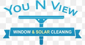 Cleaning Logo - You N View Window & Solar Panel Cleaning Solar Panels Organization Solar Power Logo PNG