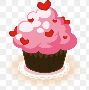 Lovely Cake - Cupcake Birthday Cake Muffin Bakery PNG