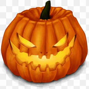 Pumpkin Lantern - Halloween Pumpkin Jack-o'-lantern Icon PNG