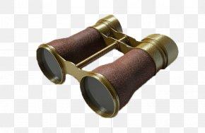 A Pair Of Binoculars - Binoculars Large Binocular Telescope PNG