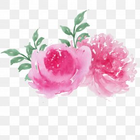 Painting - Watercolor Painting Clip Art Image Flowers In Watercolor Drawing PNG