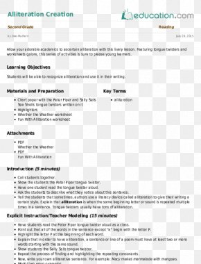 Tongue Twister Day - Worksheet Form Essay Writing Lesson PNG