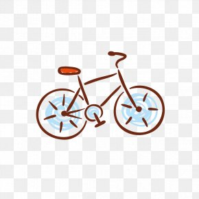 Bicycle Children's Drawings - Bicycle Frame Bicycle Wheel Illustration PNG