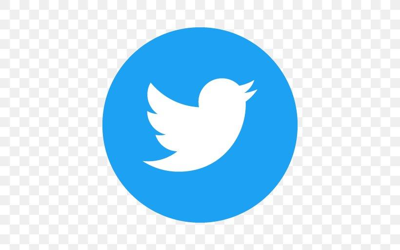 Icon Logo Clip Art, PNG, 512x512px, Social Media, Area, Beak, Blue, Clip Art Download Free