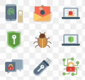 Pack Collection - Clip Art Computer Security Icon Design PNG