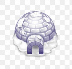 Blue Igloo - Igloo Christmas ICO Icon PNG