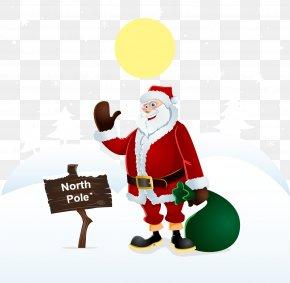 Vector Santa Claus - Santa Claus 1960s Illustration PNG