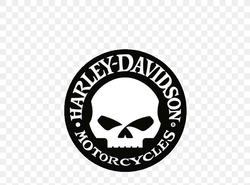 Harley Davidson Motorcycle Logo Rocker Skull Vinyl Decal Sticker Bike Car Van