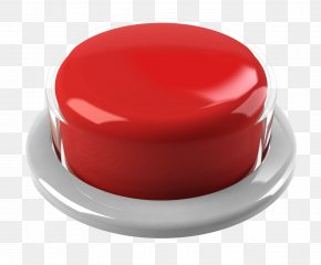 Button - Push-button Red Clip Art PNG