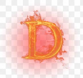 Flame Letter - Flame Light Fire Letter English Alphabet PNG