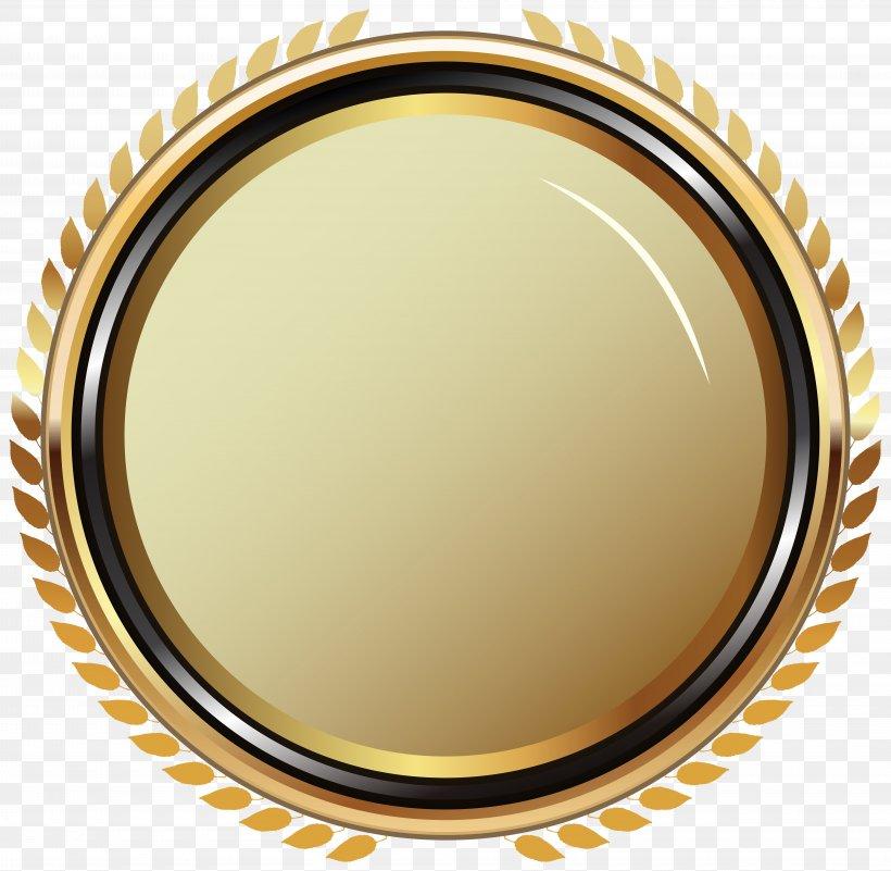 Badge Clip Art, PNG, 8000x7823px, Badge, Brass, Gold, Gold Medal, Medal Download Free