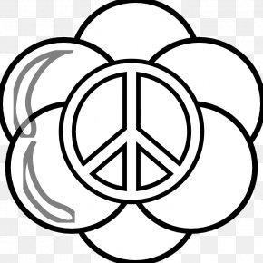 Book Line Art - Peace Symbols Coloring Book Clip Art PNG
