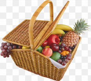 Basket Of Fruit Food Gift Baskets Clip Art PNG