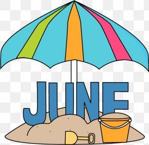 9 December Calendar Cliparts - June Month Clip Art PNG