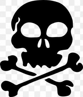 Free Skull Pictures - Skull And Bones Skull And Crossbones Clip Art PNG