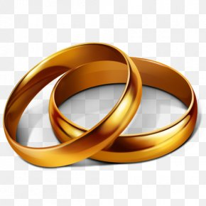 Wedding Golden Rings Image - Wedding Ring Engagement Ring Wedding Invitation Clip Art PNG