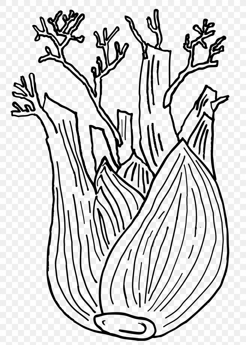 Free Carrot Line Drawing Clip Art