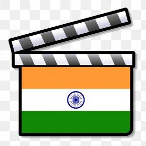 Indian Flag - Drama Silent Film Clip Art PNG