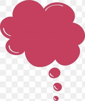 Purple Red Flowers Bubbles - Bubble PNG