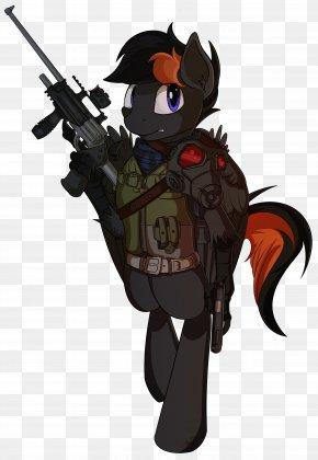 Horse - Horse Gun Cartoon Military PNG
