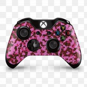 Xbox One Controller - Xbox One Controller Game Controllers Video Games Xbox 360 Video Game Consoles PNG