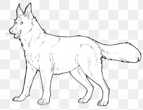 Dog Line Drawing - Dog Line Art Puppy Drawing Clip Art PNG