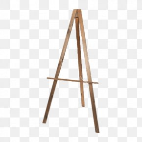 Painting - Easel Canvas Painting Arbel Tripod PNG