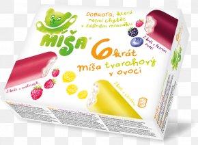 Ice Cream - Fruit Ice Cream Strawberry Pie Míša PNG