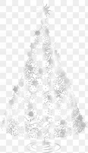 Christmas Tree - Christmas Tree Fir Santa Claus Christmas Ornament PNG