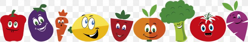 Food Fruit Vegetable Strawberry Eating, PNG, 2340x402px, Food, Berry, Broccoli, Caricature, Eating Download Free