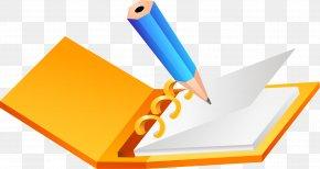 Pencil Vector Material - Paper Pencil Diary PNG