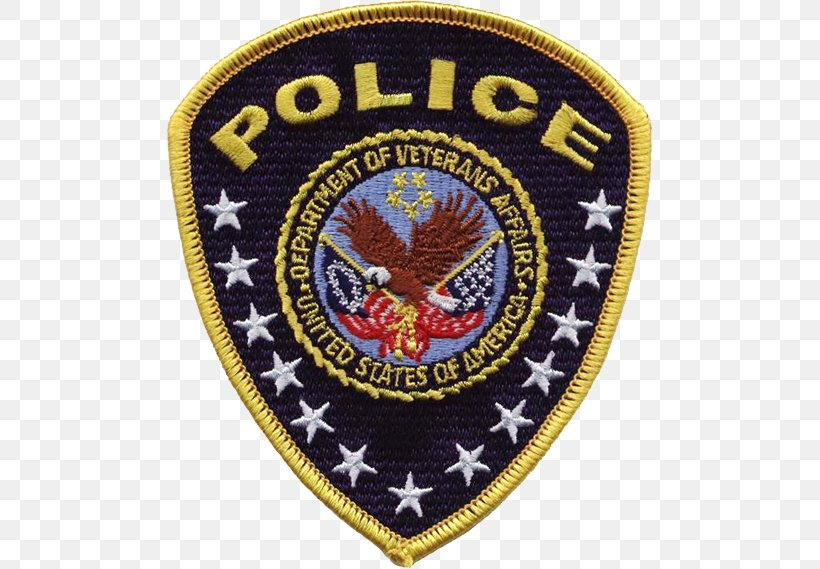 United States Department Of Veterans Affairs Police Police Officer, PNG, 487x569px, United States, Badge, Crest, Department Of Defense Police, Emblem Download Free