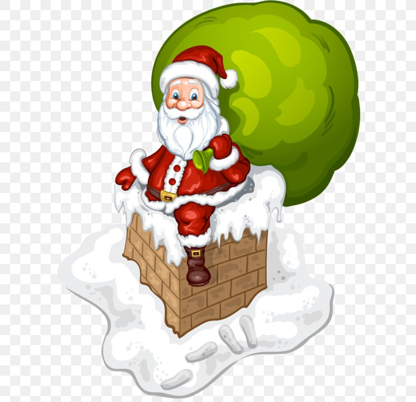 Santa Claus Christmas Day Vector Graphics Image Royalty-free, PNG, 600x792px, Santa Claus, Art, Cartoon, Chimney, Christmas Download Free