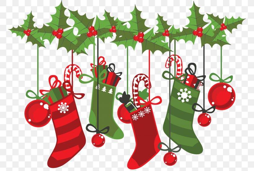 Santa Claus Clip Art Christmas Day Vector Graphics Illustration, PNG, 768x551px, Santa Claus, Aquifoliaceae, Branch, Christmas, Christmas Day Download Free